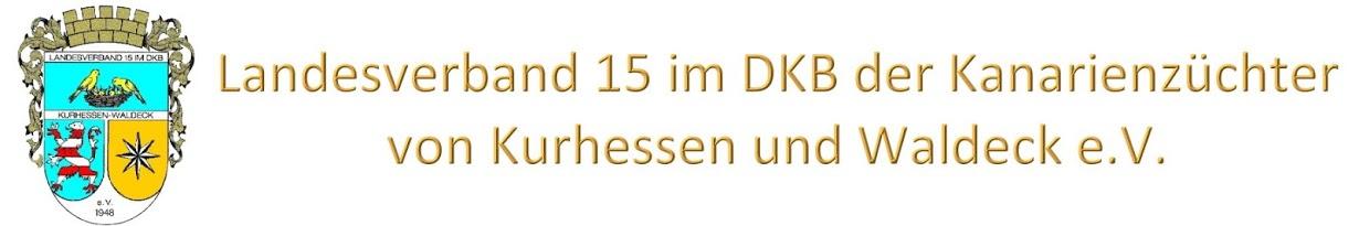 Landesverband 15 der Kanarienzüchter von Kurhessen und Waldeck e.V.